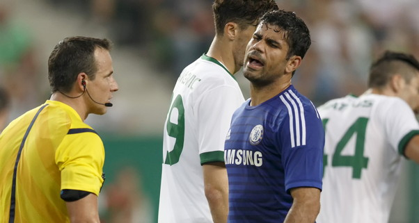 Diego Costa Hamstring Injury
